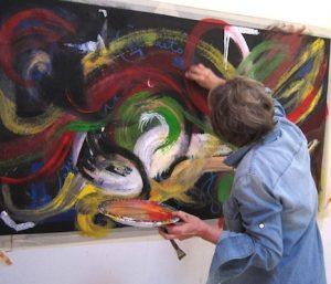 acrylic painting workshop in santa fe