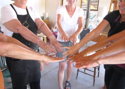 womens hands group